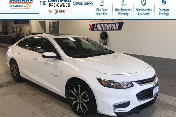 2018 Chevrolet Malibu LT TRUE NORTH, NAVIGATION, BOSE, SUNROOF !!!  - $167.57 B/W