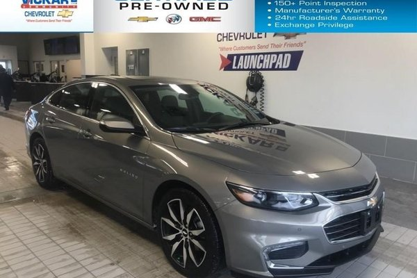 2018 Chevrolet Malibu LT  NAVIGATION, SUNROOF, BOSE AUDIO   - $160.81 B/W
