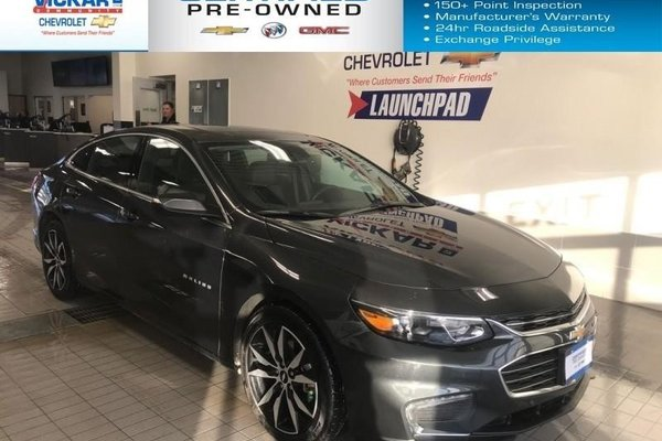 2018 Chevrolet Malibu LT  LEATHER HEATED SEATS, NAVIGATION, SUNROOF, BOSE