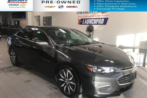 2018 Chevrolet Malibu LT   BOSE AUDIO, LEATHER SEATS, NAVIGATION,  - $160.85 B/W