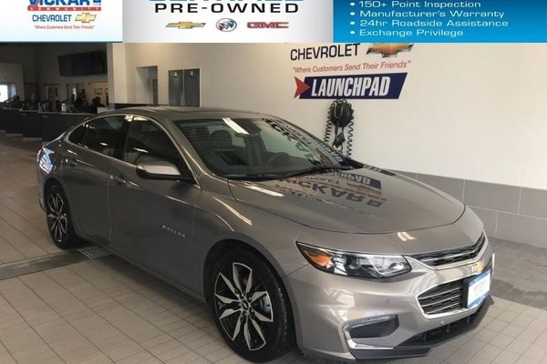 2018 Chevrolet Malibu LT   BOES AUDIO, SUNROOF, NAVIGATION