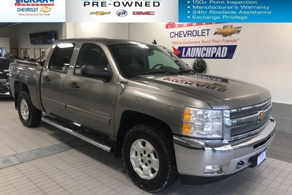 2012 Chevrolet Silverado 1500 LT  CREW CAB, 5.3L V8, 4X4  - $211.26 B/W