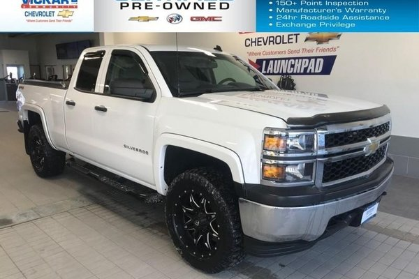 2014 Chevrolet Silverado 1500 LIFTED, UPGRADED RIMS AND TIRES, 4X4   - $202.91 B/W