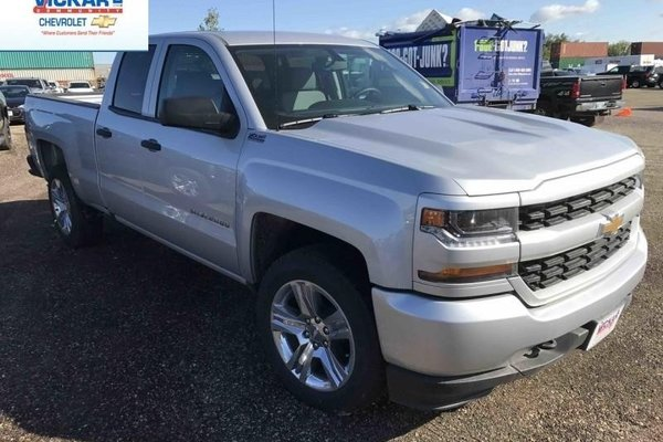 2017 Chevrolet Silverado 1500 Custom  - A/C -  Bluetooth - $240.95 B/W