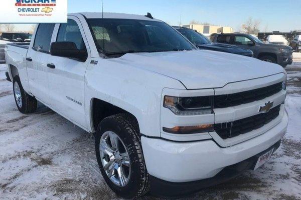 2018 Chevrolet Silverado 1500 Custom  -  Bluetooth - $304.90 B/W