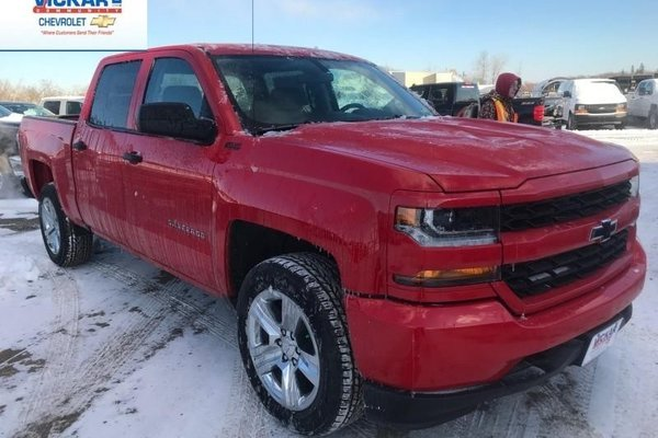 2018 Chevrolet Silverado 1500 Custom  -  Bluetooth - $285.95 B/W