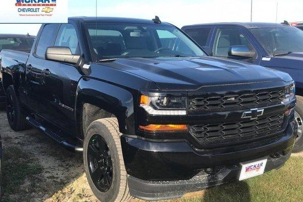 2018 Chevrolet Silverado 1500 Custom  -  Bluetooth - $290.40 B/W