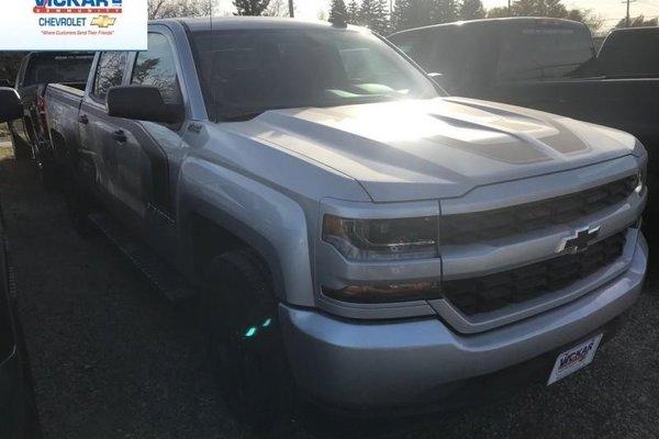 2018 Chevrolet Silverado 1500 Custom  -  Bluetooth - $324.89 B/W