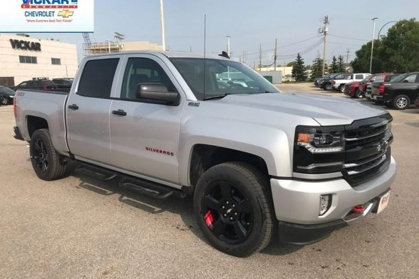 Used Tires Winnipeg >> New 2018 Chevrolet Silverado 1500 LTZ LTZ REDLINE EDITION ...
