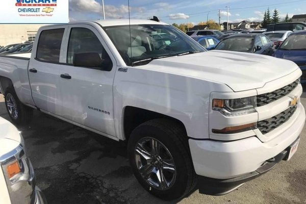 2018 Chevrolet Silverado 1500 Custom  -  Bluetooth - $311.51 B/W
