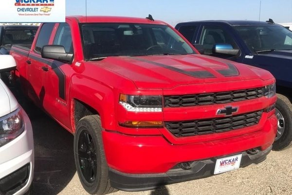 2018 Chevrolet Silverado 1500 Custom  - $294.65 B/W
