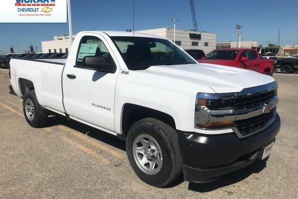 2018 Chevrolet Silverado 1500 Work Truck  - $186.07 B/W