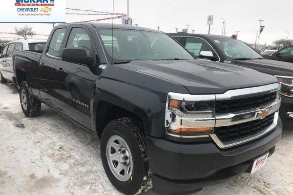 2018 Chevrolet Silverado 1500 Work Truck  - Cruise Control - $214.59 B/W