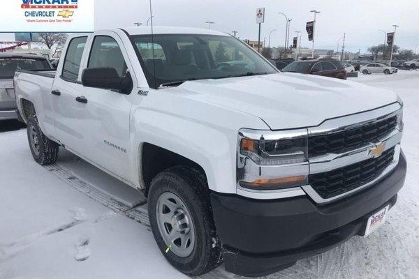 2018 Chevrolet Silverado 1500 Work Truck  - Cruise Control - $242.37 B/W