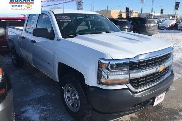 2018 Chevrolet Silverado 1500 Work Truck  - Cruise Control - $239.76 B/W