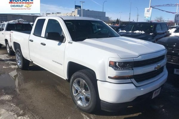 2018 Chevrolet Silverado 1500 Custom  -  Bluetooth - $314.60 B/W