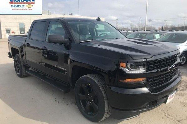 2018 Chevrolet Silverado 1500 Custom  -  Bluetooth - $322.74 B/W