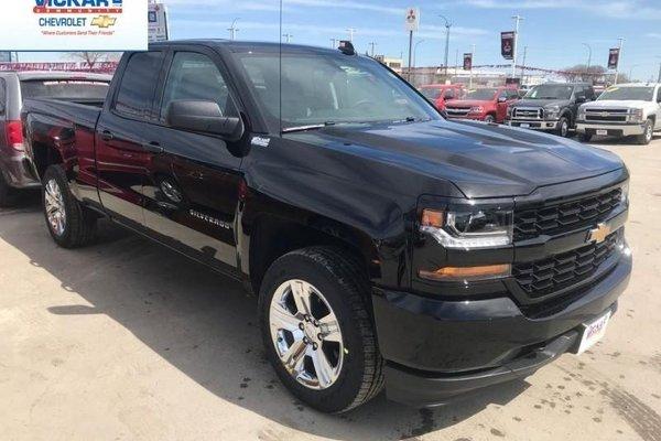 2018 Chevrolet Silverado 1500 Custom  -  Bluetooth - $267.86 B/W