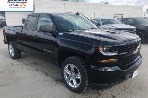 2018 Chevrolet Silverado 1500 Custom  -  Bluetooth - $276.21 B/W