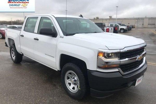 2018 Chevrolet Silverado 1500 Work Truck  - $262.86 B/W