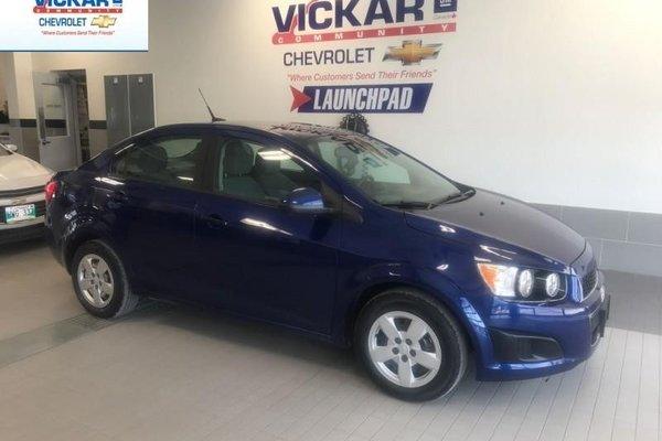 2012 Chevrolet Sonic LS  - Bluetooth -  OnStar - $83.55 B/W