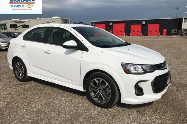 2018 Chevrolet Sonic LT  - $134.92 B/W