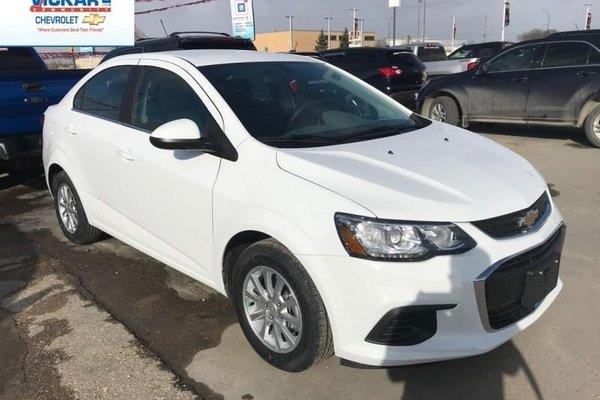 2018 Chevrolet Sonic LT  - Bluetooth - $122.01 B/W