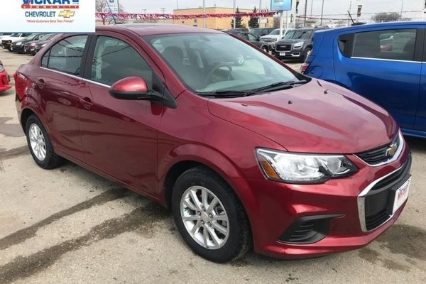 2018 Chevrolet Sonic LT  - $146.82 B/W