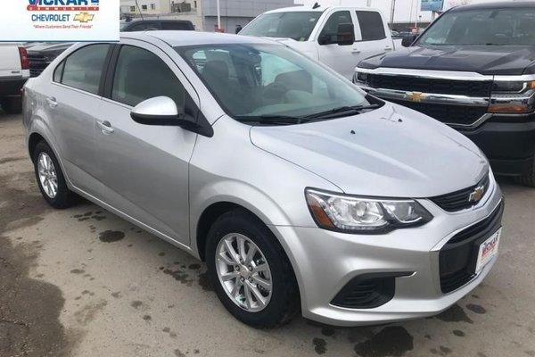 2018 Chevrolet Sonic LT  - Bluetooth - $110.44 B/W