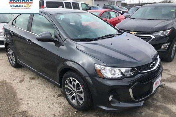 2018 Chevrolet Sonic LT  - $126.82 B/W