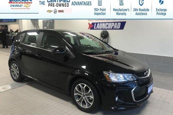 2018 Chevrolet Sonic LT R/S TURBO, HEATED SEATS, SUNROOF  - $120.42 B/W