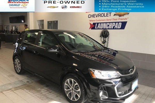 2018 Chevrolet Sonic LT    REMOTE START, SUNROOF, HEATED SEATS  - $123.75 B/W