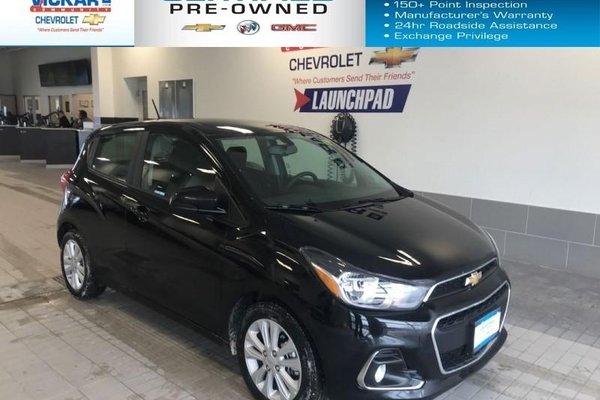 2018 Chevrolet Spark 1LT  AUTOMATIC, ALUMINUM WHEELS, GREAT ON FUEL