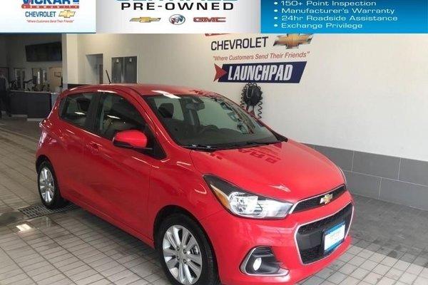 2018 Chevrolet Spark 1LT  AUTOMATIC, FUEL EFFICIENT,  - $100.25 B/W