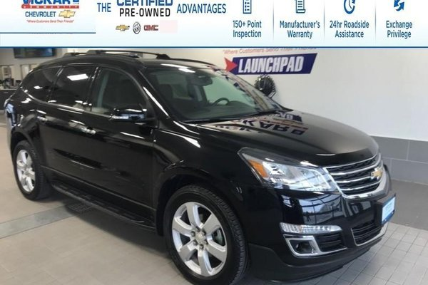 2017 Chevrolet Traverse 1LT- SUNROOF, TRAILER PACKAGE, REAR DVD ENTERTAINMENT!!!  - $224.80 B/W