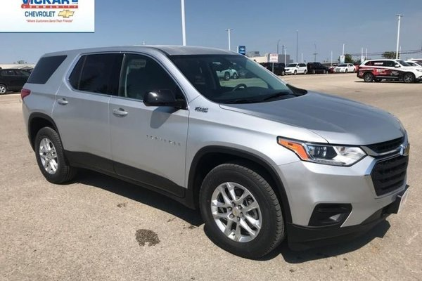 Used Chevy Traverse >> New 2019 Chevrolet Traverse LS - $245.27 B/W Silver Ice ...