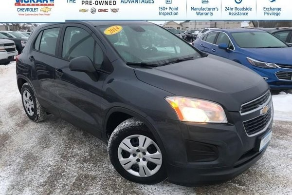 2014 Chevrolet Trax LS  MANAGER SPECIAL!- Bluetooth - Low Kms! - $124.60 B/W