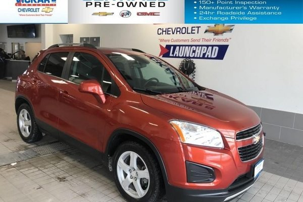 2014 Chevrolet Trax 2LT FWD, BOSE AUDIO, SUNROOF BACK UP CAMERA  - $125.20 B/W