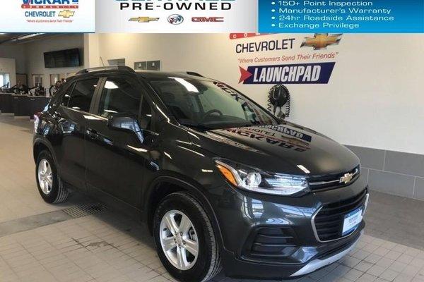 2018 Chevrolet Trax FWD, REMOTE START, REAR VIEW CAMERA  - $152.62 B/W