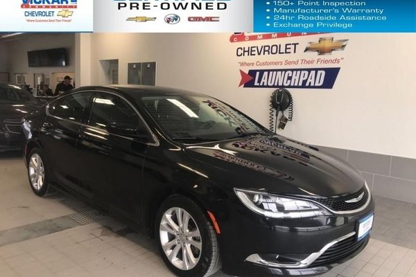 2016 Chrysler 200 FUEL EFFICIENT,2.4l 4 cyl. AUTOMATIC, BLUETOOTH   - $136.67 B/W