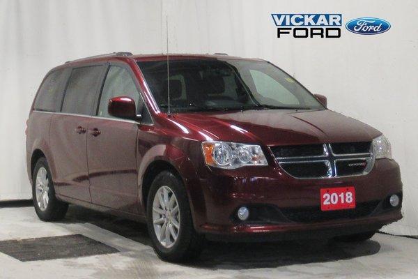 2018 Dodge Grand Caravan Premium Plus & DVD & Leather & Navigation