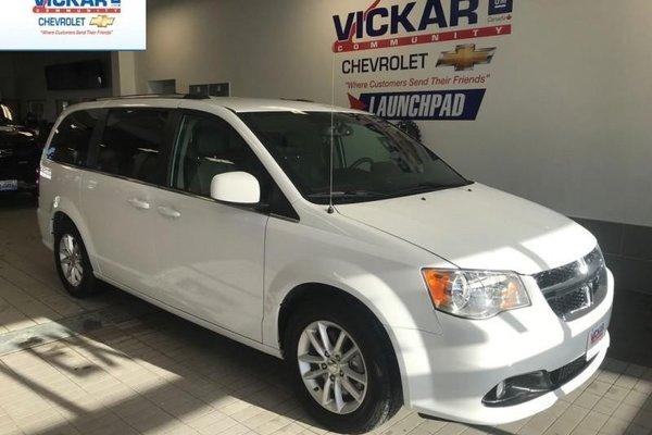 2018 Dodge Grand Caravan CVP/SXT  STOW N GO, V6,LEATER SEATS, BLUETOOTH   - $204.58 B/W