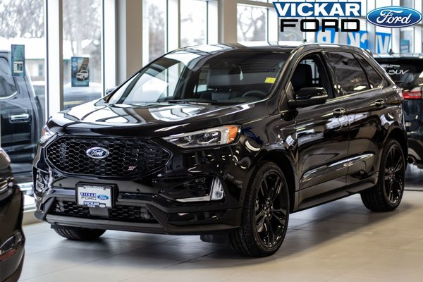 New 2019 Ford Edge St Agate Black For Sale 59546 75