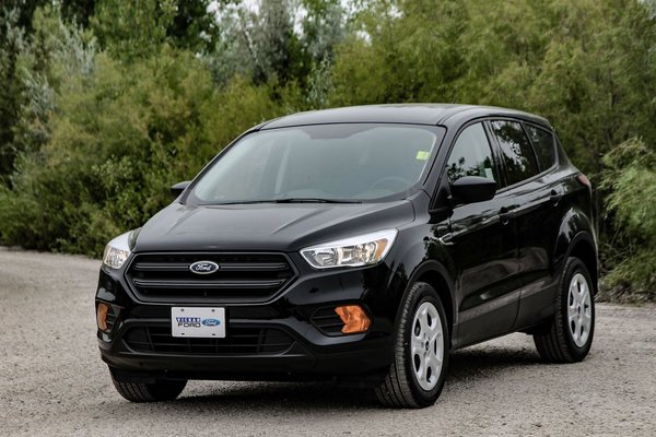 New 2017 Ford Escape S Fwd Shadow Black For Sale 27446 75