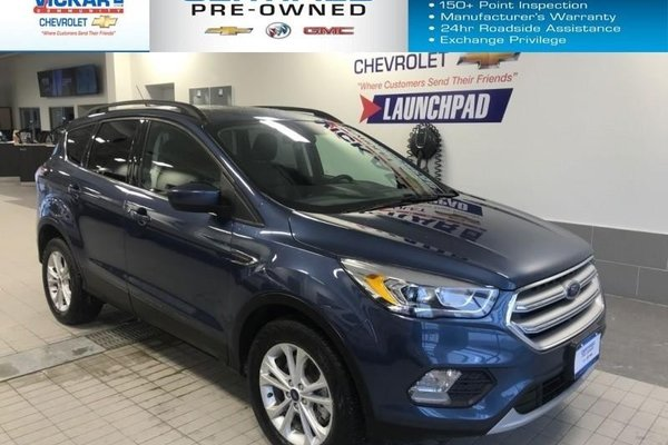 2018 Ford Escape SEL  NAVIGATION, SUN ROOF, LEATHER INTERIOR  - $187.26 B/W