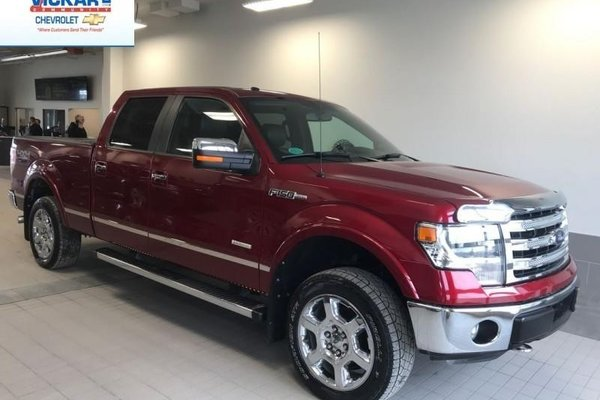 2014 Ford F-150 - Navigation, Sunroof, & Leather!