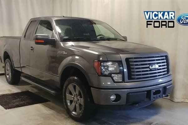 2012 Ford F150 FX4 Supercab 4WD