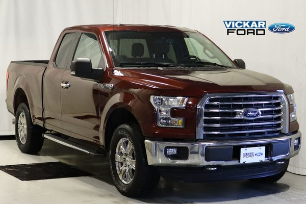 2015 Ford F150 4x4 Supercab XLT XTR Package 302A 5.0L V8