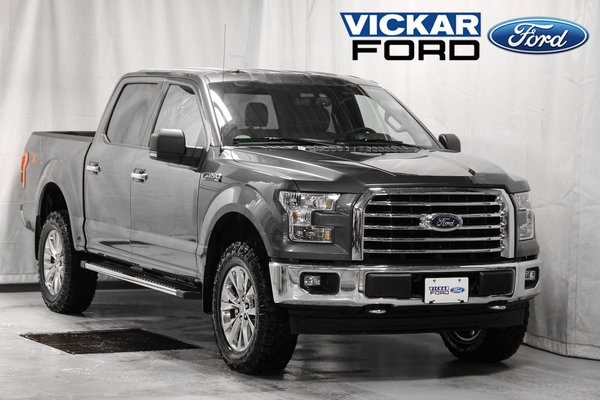 2017 Ford F150 4x4 - Supercrew XLT - 145