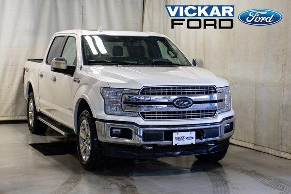 2018 Ford F150 4x4 Supercrew Lariat Chrome Package 5.0L V8